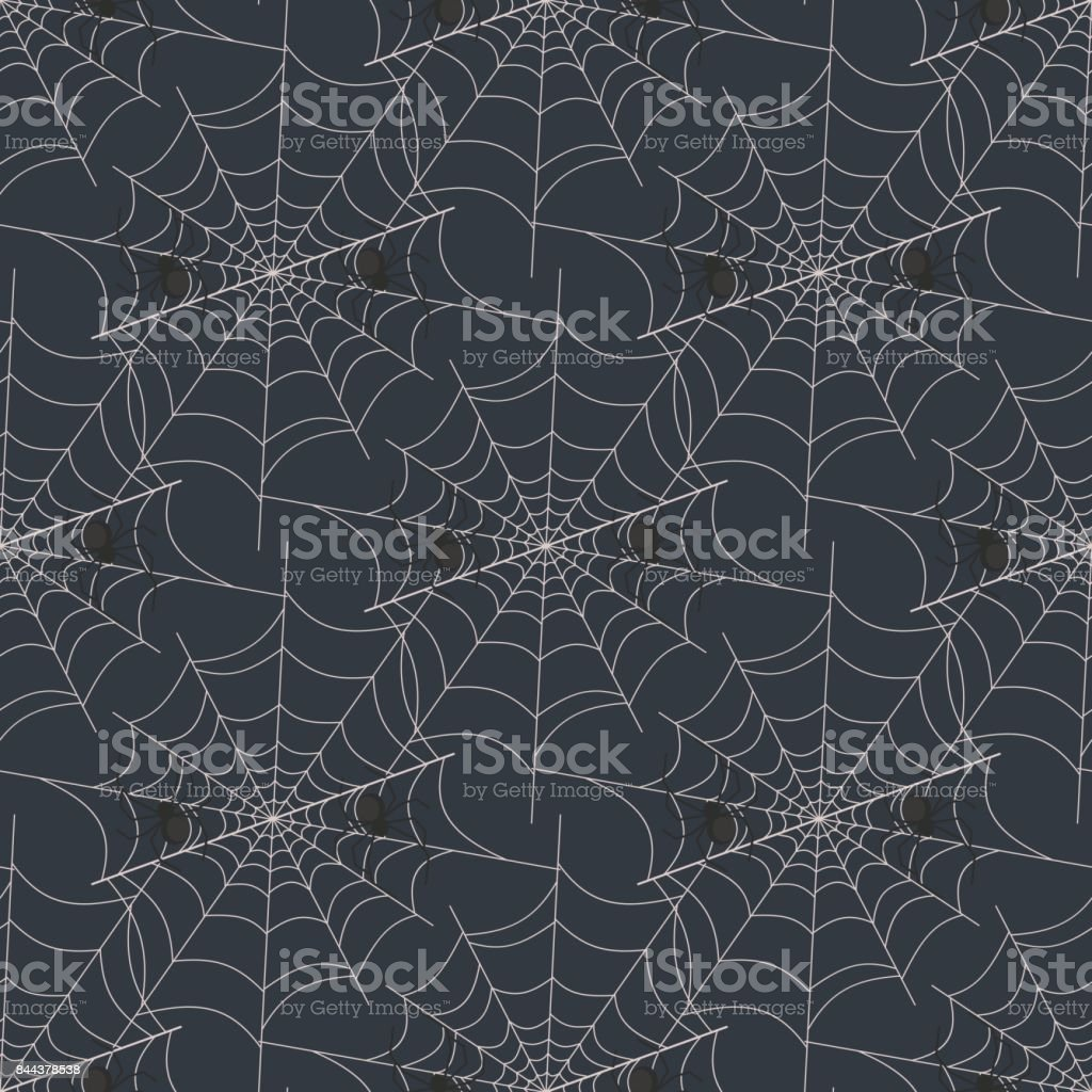 Top Wallpaper Halloween Spider - halloween-spider-web-seamless-pattern-vector-background-holiday-vector-id844378538  Perfect Image Reference_326856.com/vectors/halloween-spider-web-seamless-pattern-vector-background-holiday-vector-id844378538