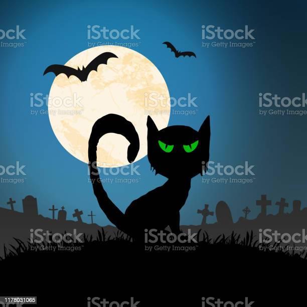 Halloween spooky cat front of full moon vector id1178031065?b=1&k=6&m=1178031065&s=612x612&h=bvqspk7ynhwnhriqvzrgtvsqeqiazmla annwtsqqqs=