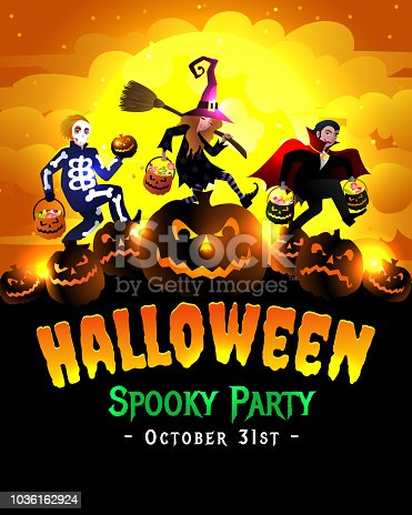 istock Halloween Spooky Party 1036162924