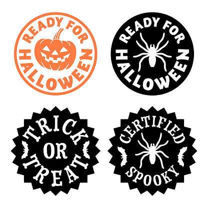 Halloween stamp set