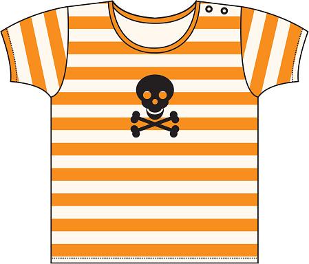 Halloween Striped T-shirt