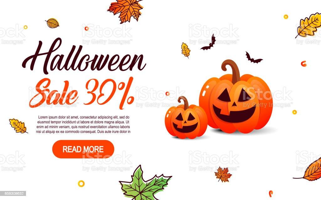 Ilustración de Plantilla De Halloween Banners 30 De Venta En Piso De ...
