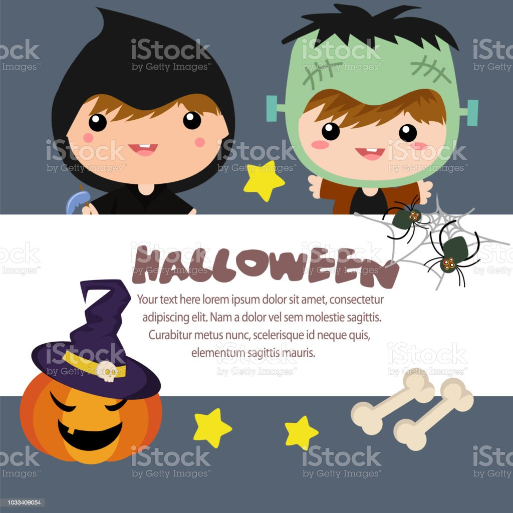 halloween template grim reaper frankenstein stock vector art more
