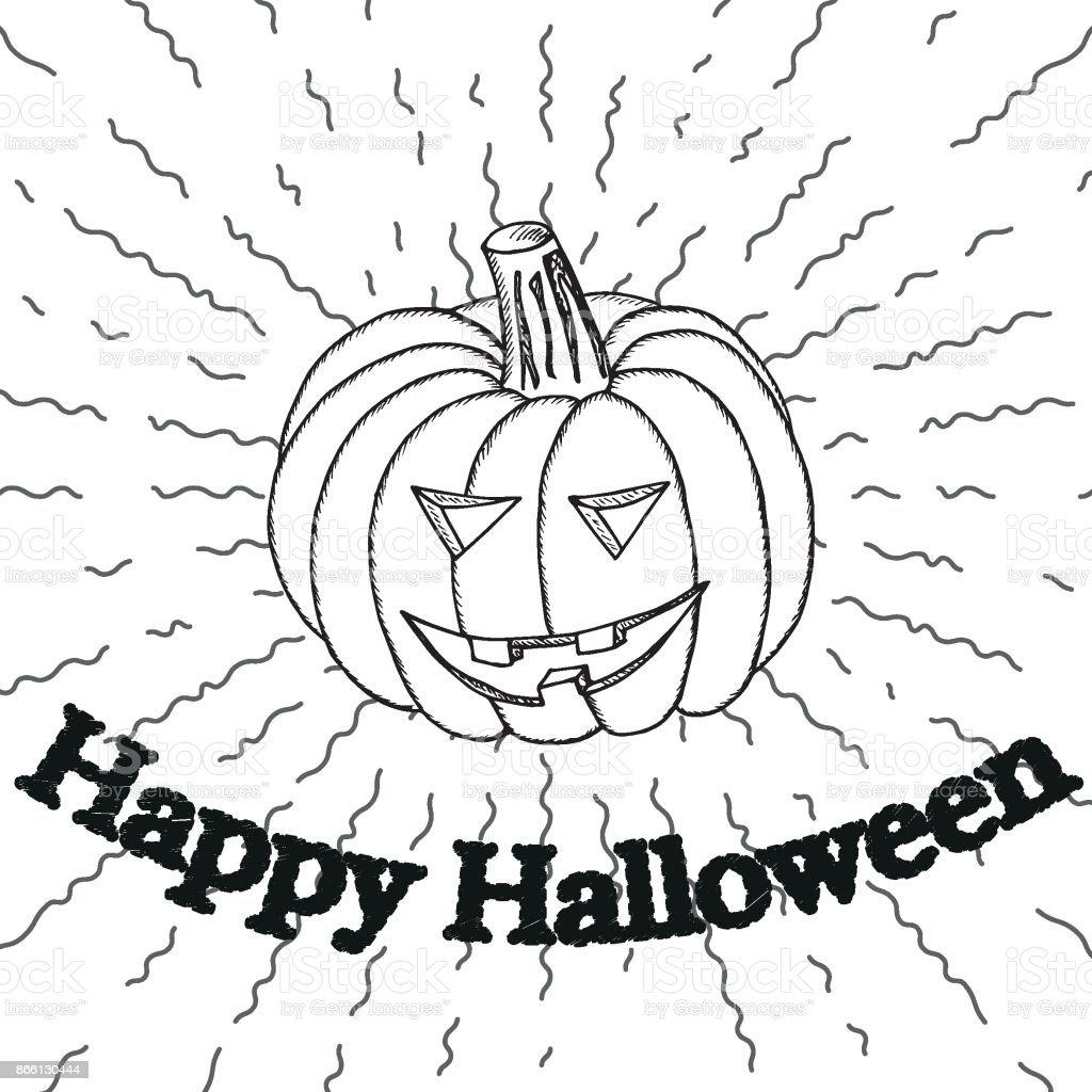 Sjabloon Pompoen Halloween.Halloween Sjabloon Pompoen Voering 1a Stockvectorkunst En Meer Beelden Van Angst