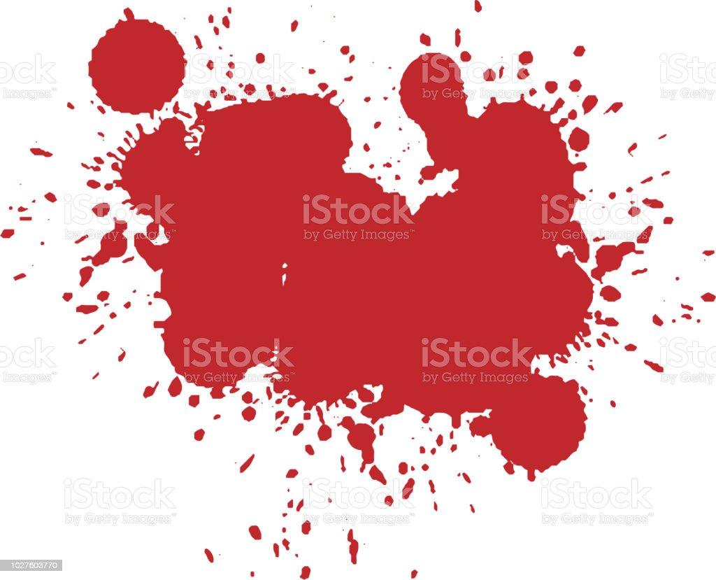 ハロウィーン恐ろしい血しぶき しぶきのベクターアート素材や画像を
