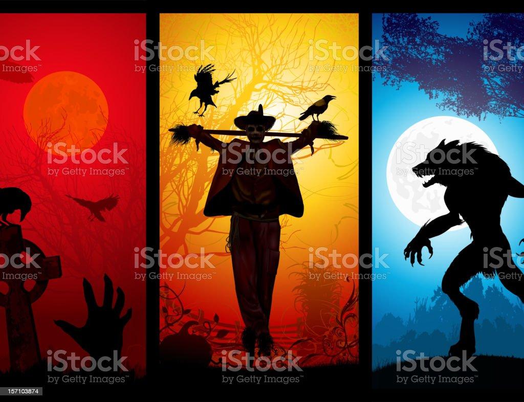 Halloween Theme royalty-free stock vector art