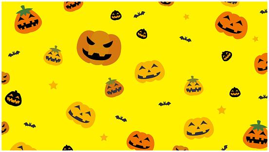 Halloween title background