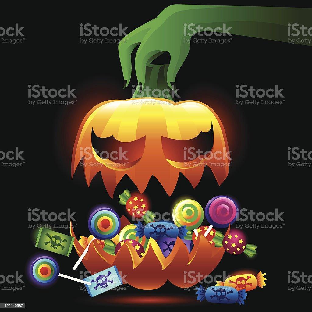 halloween treats royalty-free stock vector art