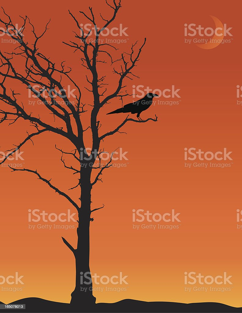 Halloween Tree royalty-free halloween tree stock vector art & more images of animal