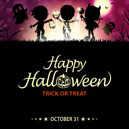 Halloween Trick or Treat Night Party