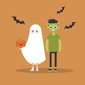 Halloween trick or treat set