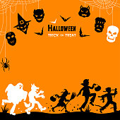 istock Halloween Trick Or Treaters 1181607706