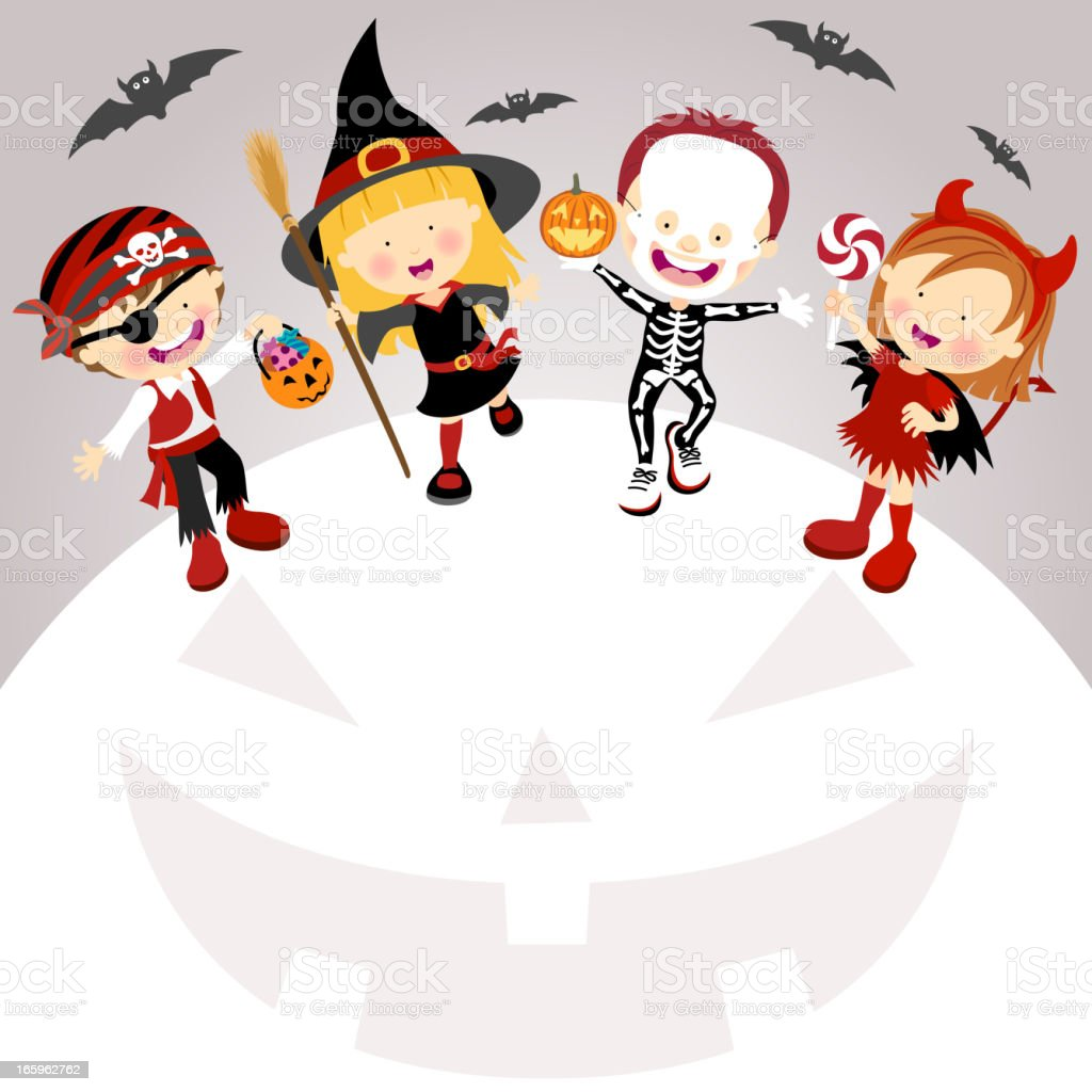 Halloween Trick & Treat royalty-free halloween trick treat stock vector art & more images of autumn