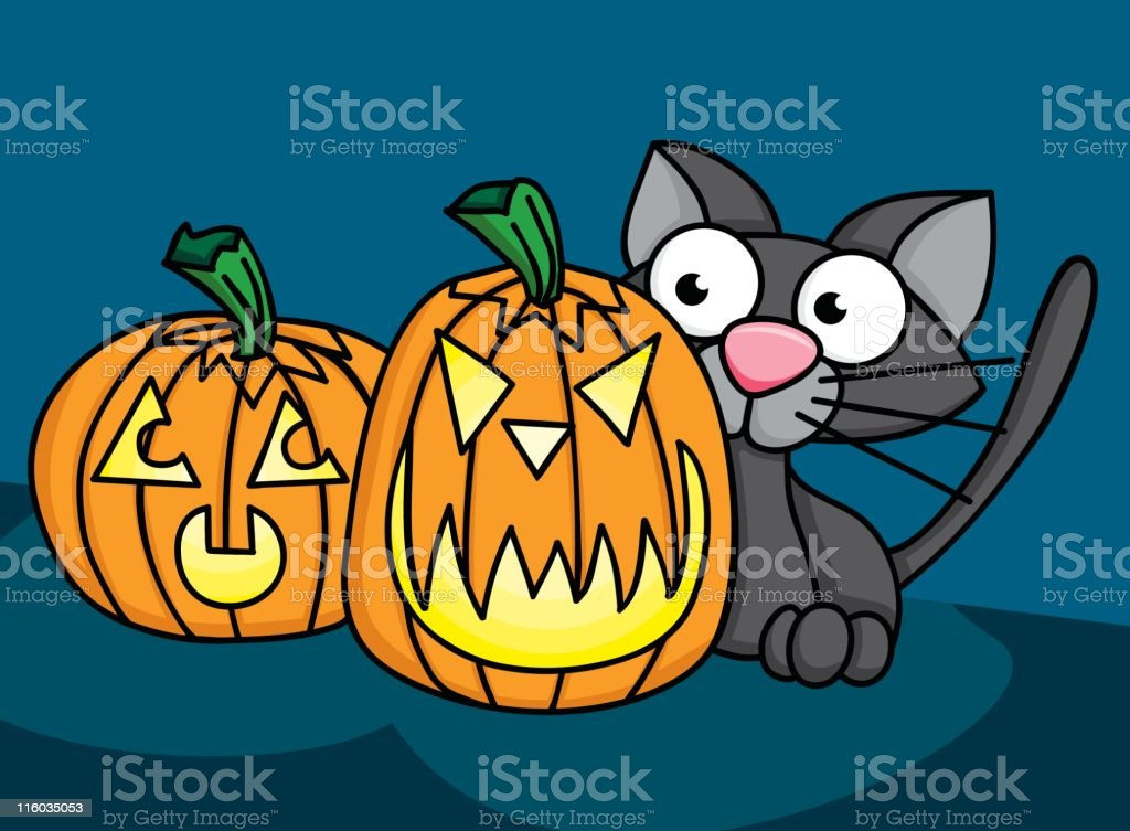 Halloween Trio royalty-free halloween trio stock vector art & more images of animal