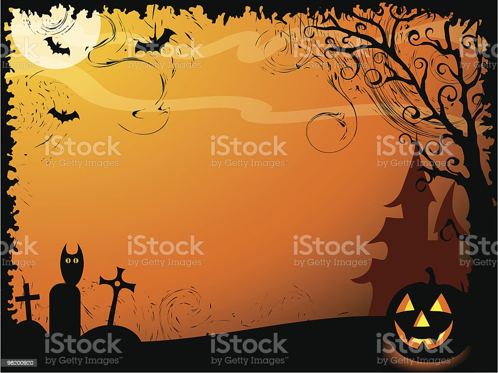 Halloween vector background royalty-free halloween vector background stock vector art & more images of autumn