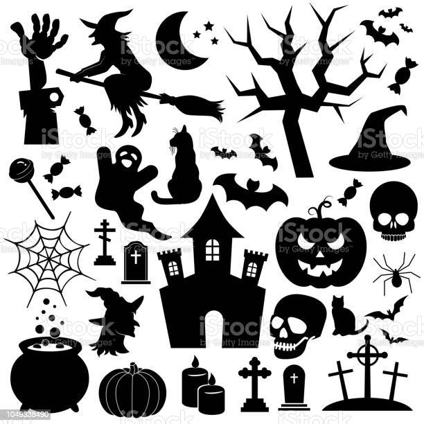 Halloween vector icon set collection of halloween icons vector id1049338490?b=1&k=6&m=1049338490&s=612x612&h=ppuhc34qzaabzbvutk5n2wujzx6xzw9nryozekduepm=