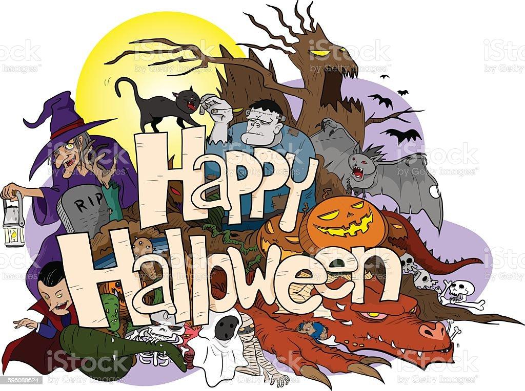 Halloween royalty-free halloween stock vector art & more images of art