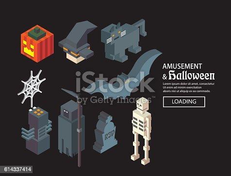 Halloween icon design