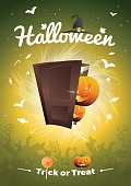 Halloween Vector - Trick or Treat illustration