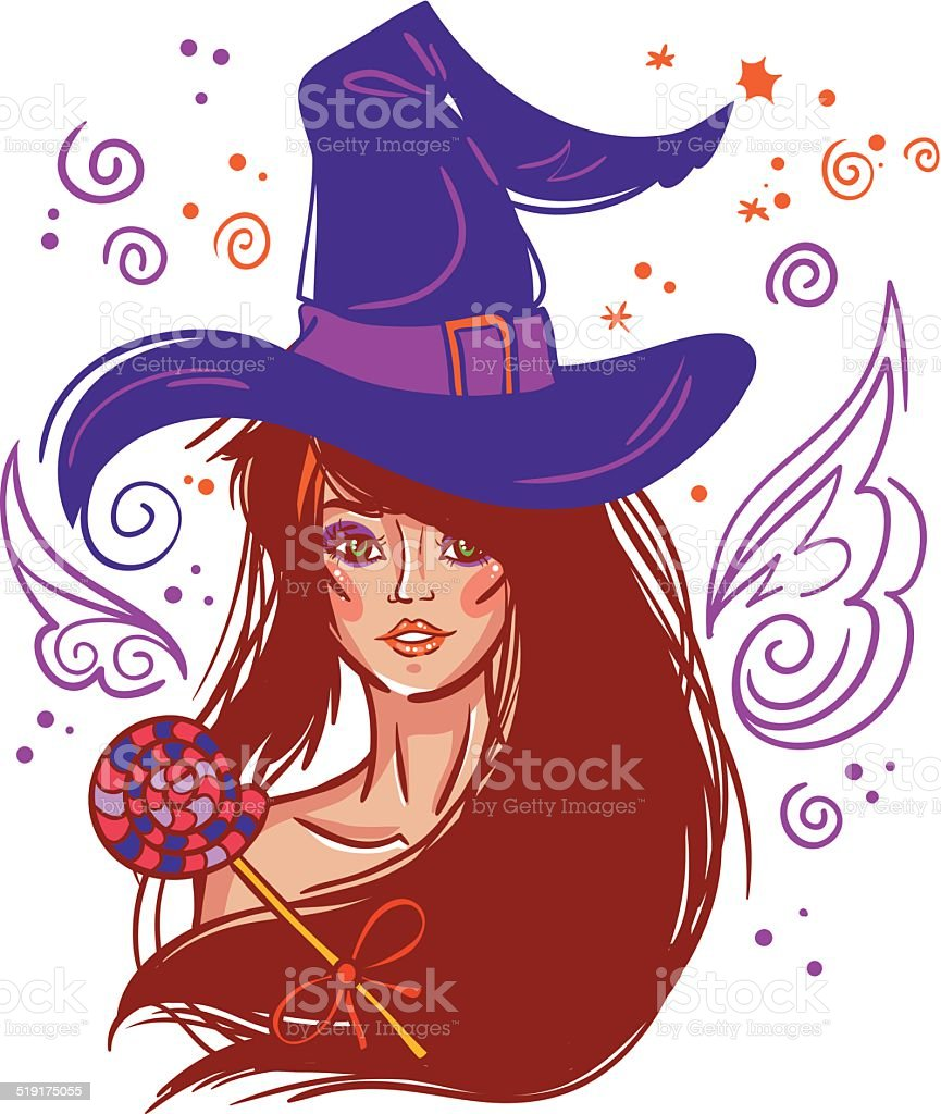 Halloween vector witch royalty-free halloween vector witch stock vector art & more images of adult