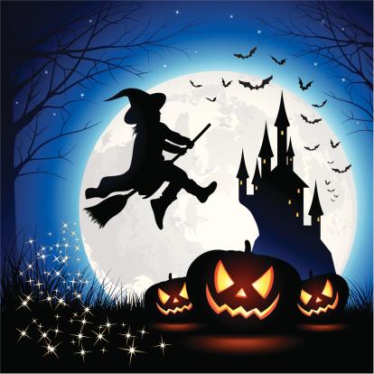 Halloween Witch Children