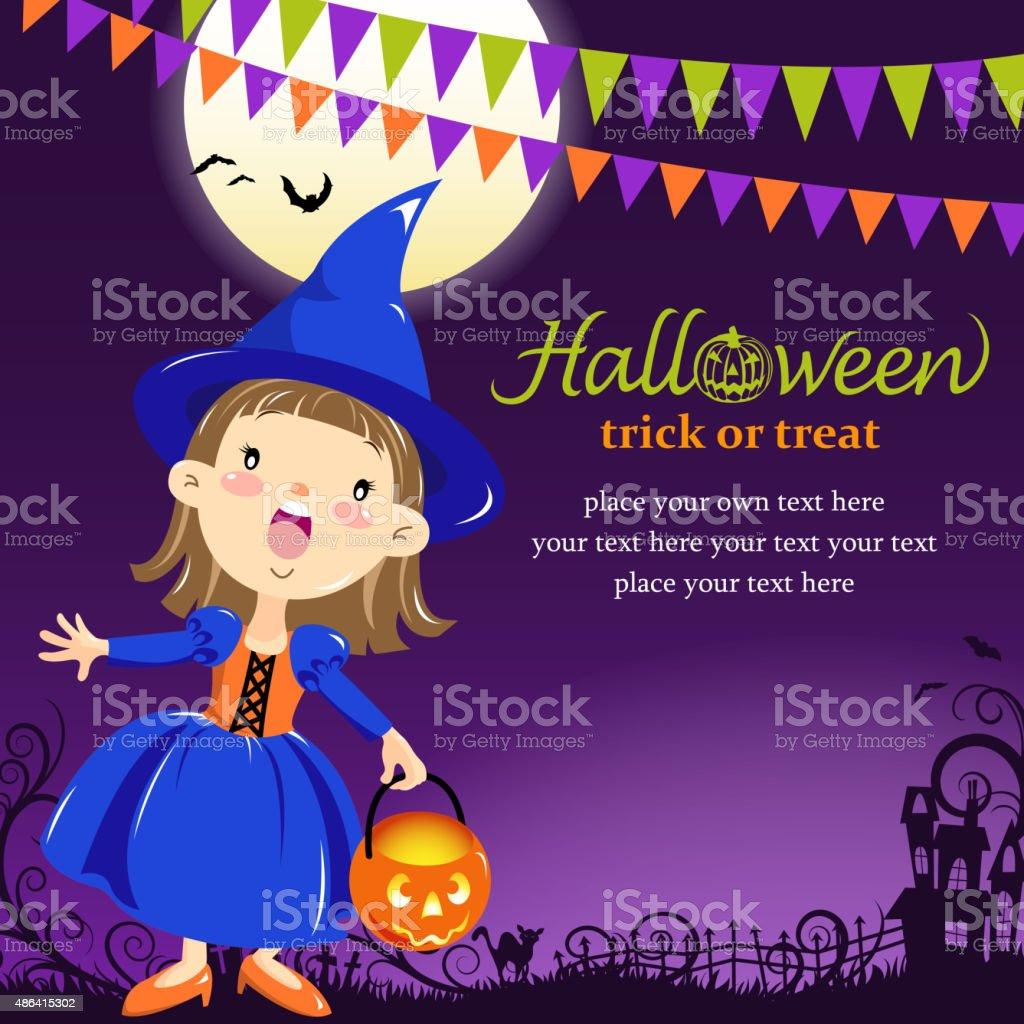 Fiesta De Halloween Bruja - Arte vectorial de stock y más imágenes ...
