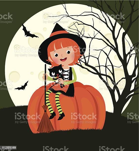 Halloween witch sitting on a pumpkin vector id512325169?b=1&k=6&m=512325169&s=612x612&h=4oydzjir2vfs8oqoti fmjaetz ov1qco mcqfow 6c=