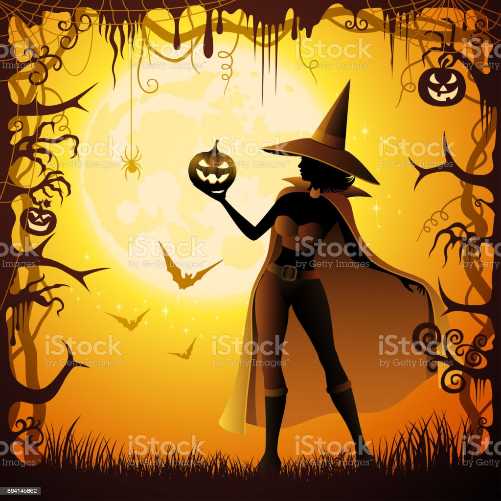 Halloween Witch royalty-free halloween witch stock vector art & more images of adult