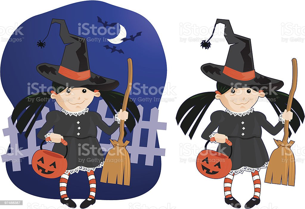 Halloween Witch royalty-free halloween witch stock vector art & more images of bat - animal