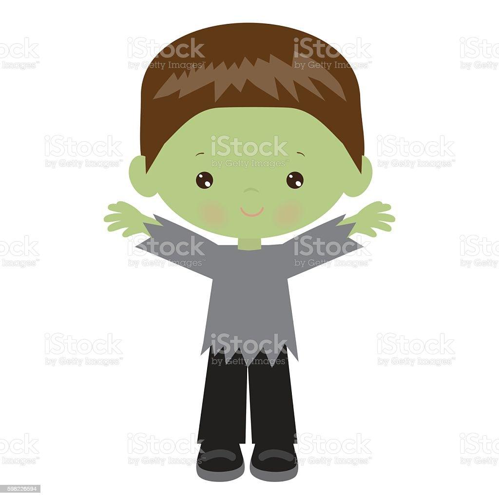 Halloween zombie vector illustration ilustração de halloween zombie vector illustration e mais banco de imagens de criança royalty-free