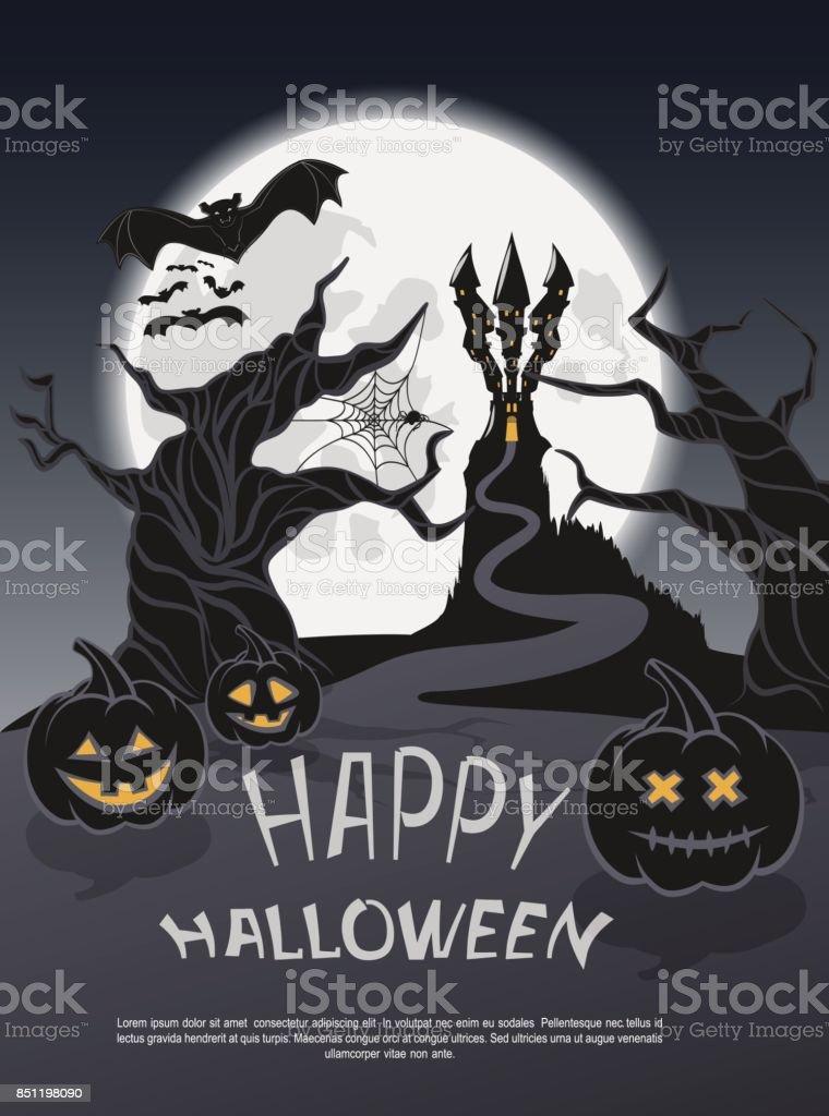 Halloween7 vector art illustration