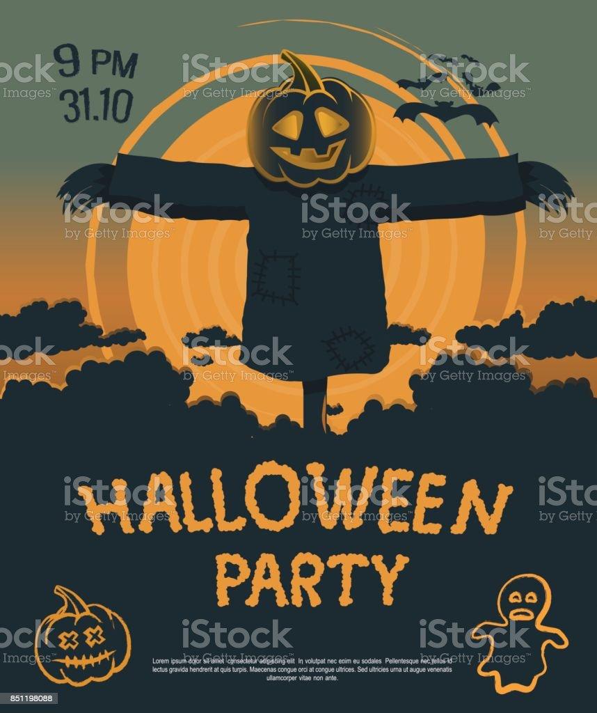 Halloween8 vector art illustration