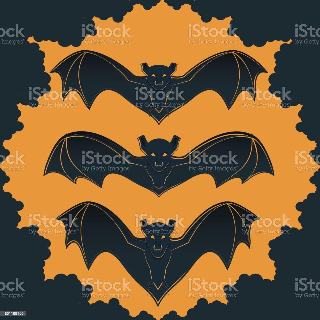 Halloween9 vector art illustration
