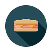 Ham and Cheese Sandwich Icon