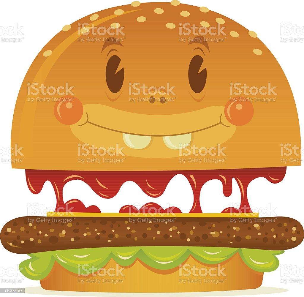 Hamburger Character - See anything you like? royalty-free hamburger character see anything you like stock vector art & more images of cartoon