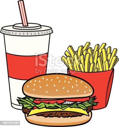 istock Hamburger Combo 482255263