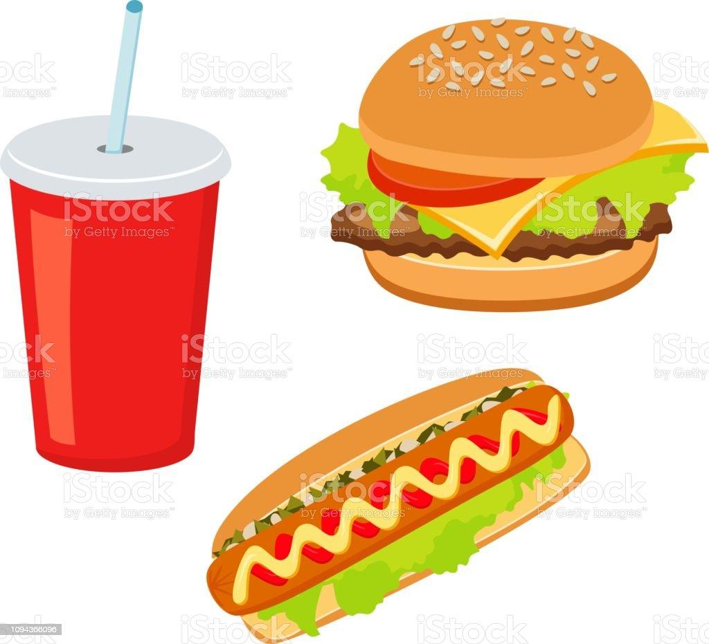 Hotdog And Soda Clipart   Free Images at Clker.com - vector clip art  online, royalty free & public domain