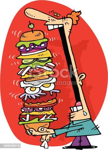 istock hamburguesa gigante!! 165658519
