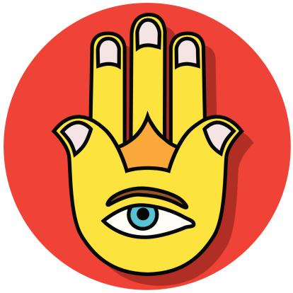 Hamesh hand icon