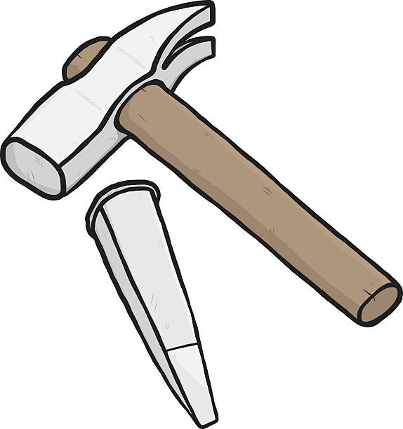 Royalty Free Chisel Clip Art, Vector Images ...