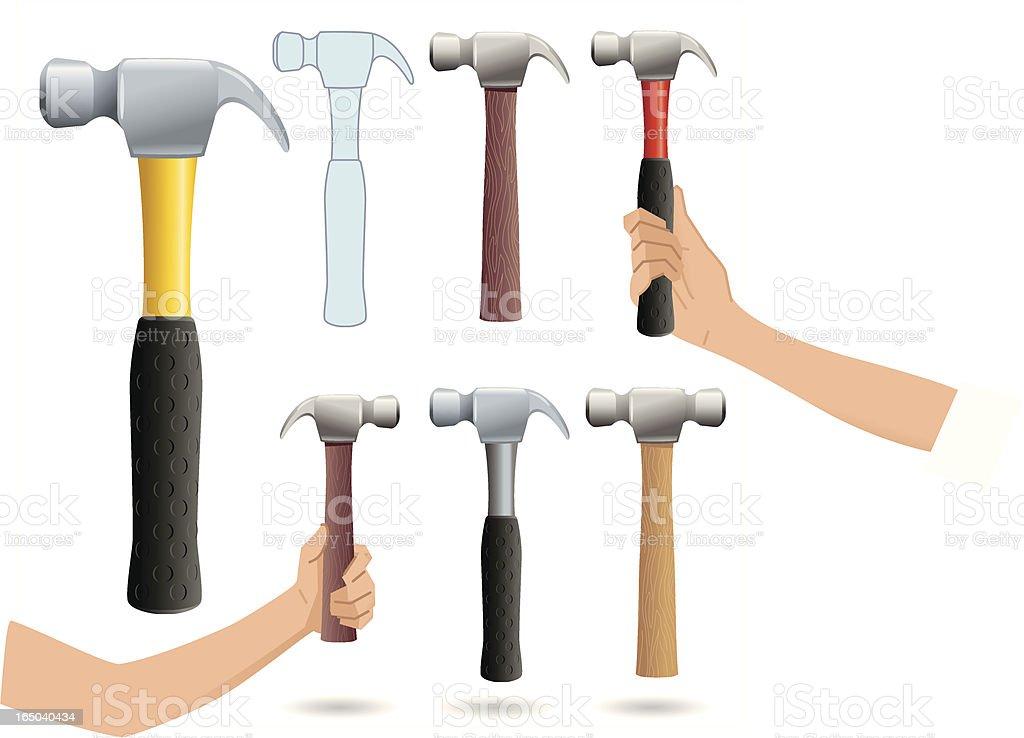 Hammer Time royalty-free stock vector art