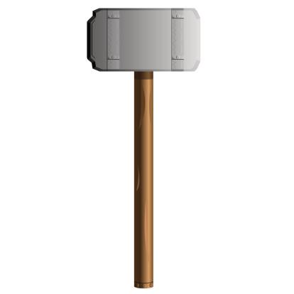 hammer, vector illustration