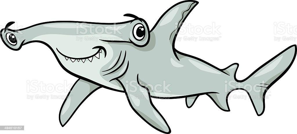 royalty free hammerhead shark clip art vector images rh istockphoto com hammerhead shark clipart free