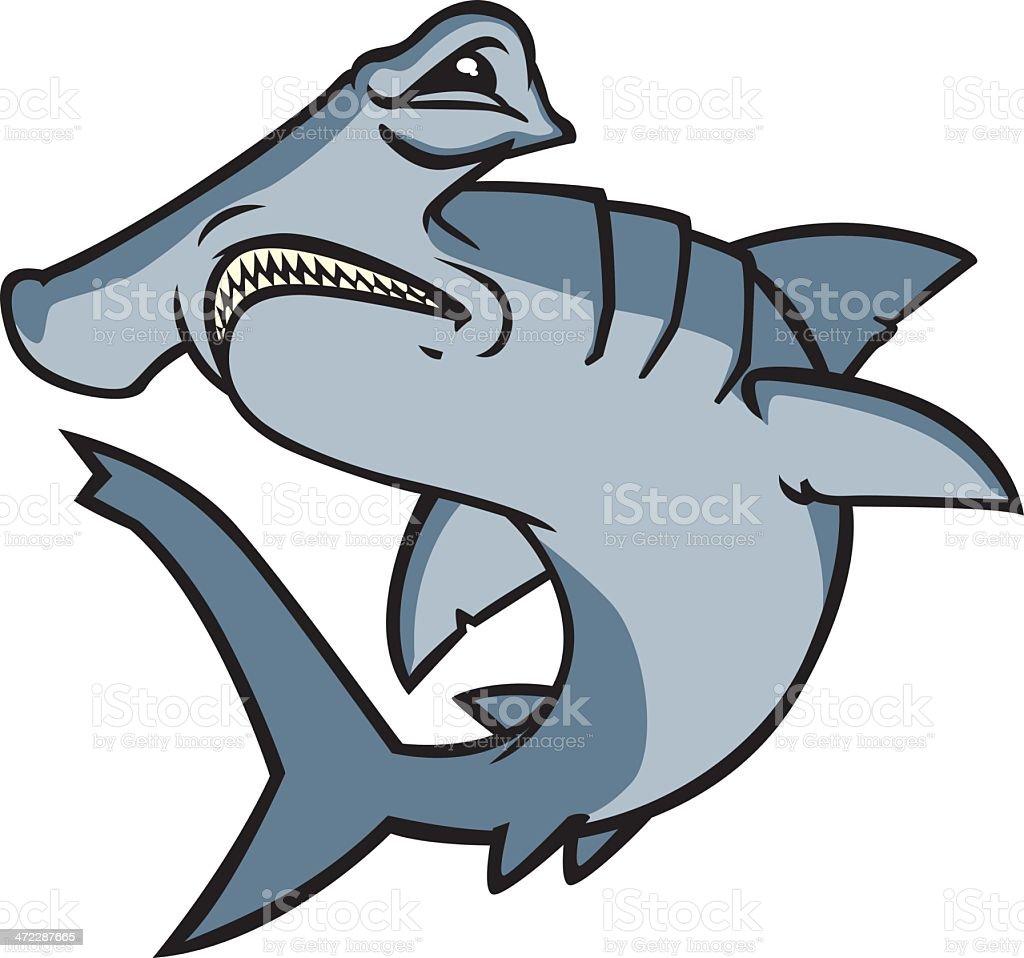 royalty free hammerhead shark clip art vector images rh istockphoto com  hammerhead shark clipart black and white