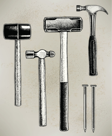 Hammers - Construction Tools, Sledge, Claw, Ball Peen