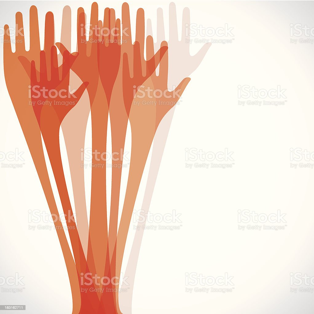 hand background royalty-free hand background stock vector art & more images of a helping hand