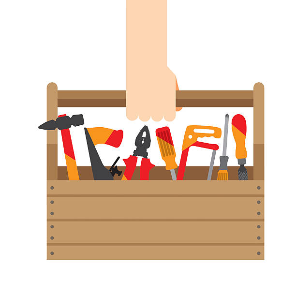 Royalty Free Toolbox Clip Art, Vector Images ...