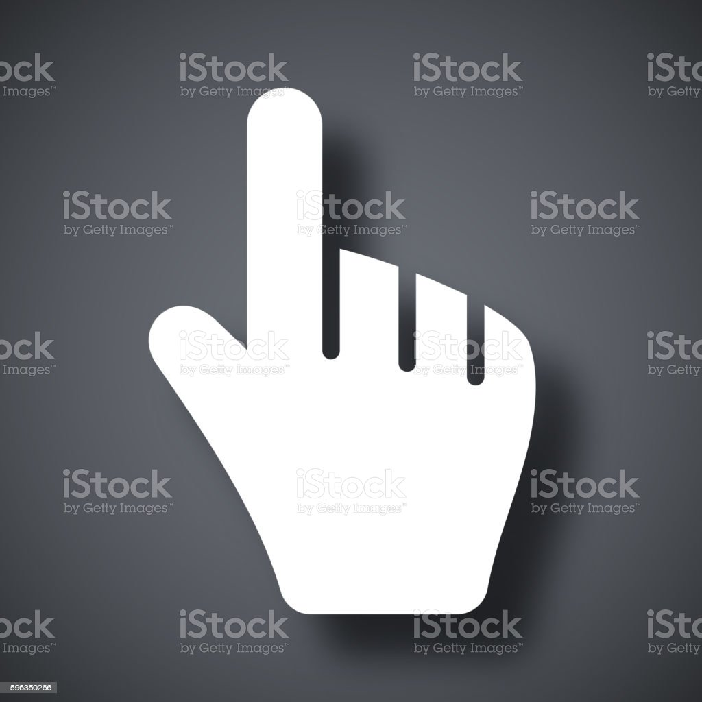 Hand cursor, stock vector royalty-free hand cursor stock vector stock vector art & more images of abstract