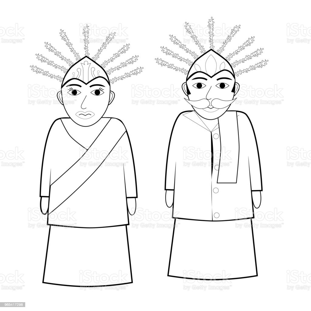 Royalty Free Betawi Clip Art Vector Images Illustrations Istock