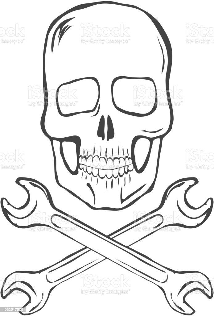 zeichnen totenkopf
